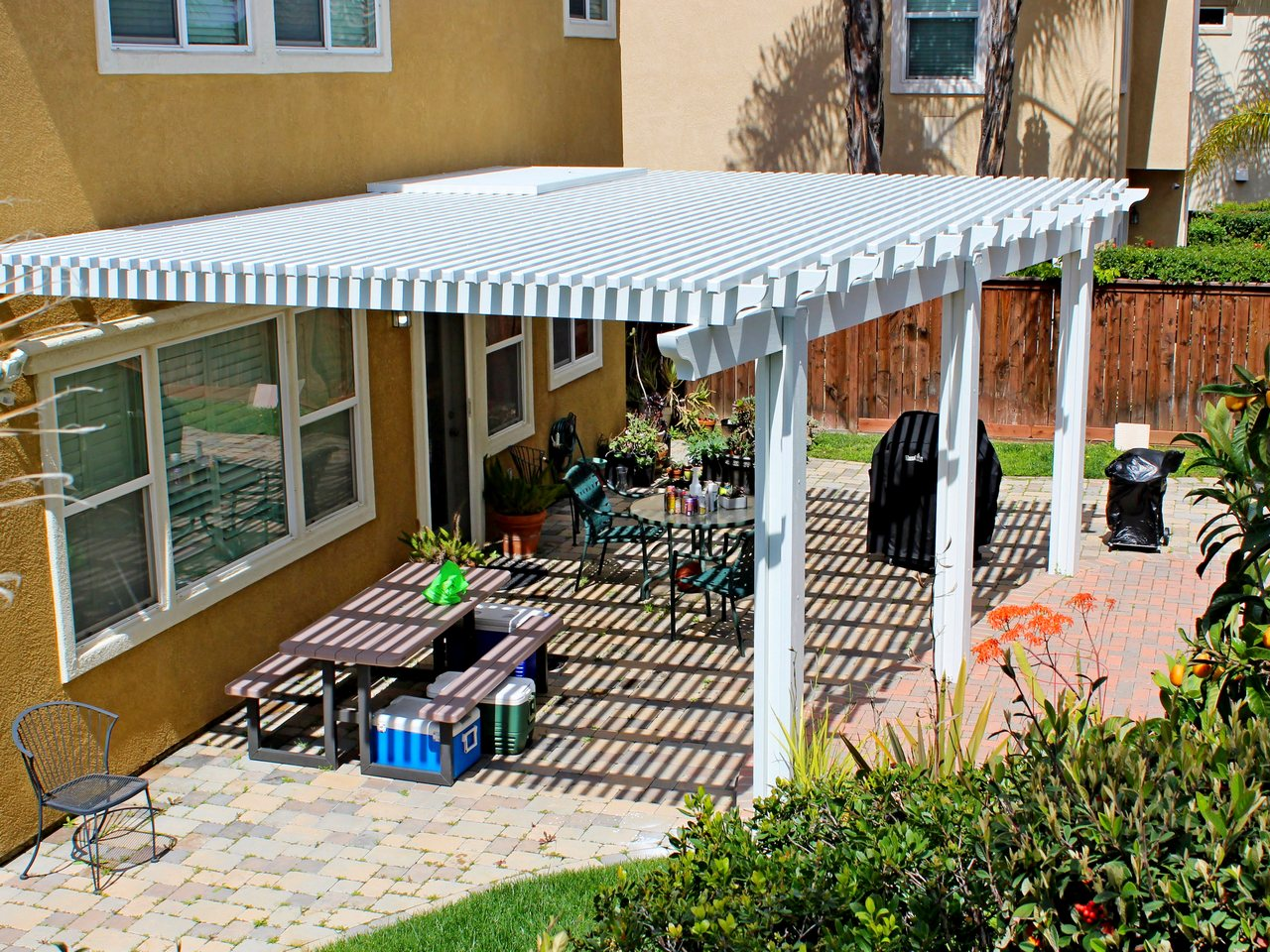Rancho Santa Fe Patio Cover after